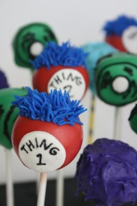 Dr. Seuss Cake Pops