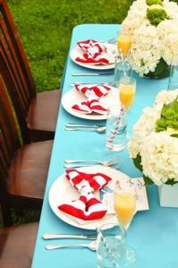 Dr. Seuss Table Setting
