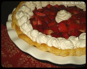Balsamic Strawberry Pie