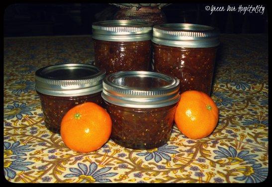 Spiced Orange Fig Jam